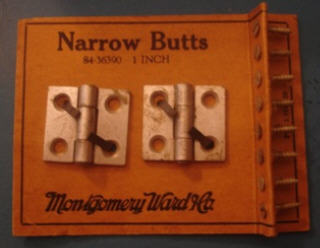 Narrow butts