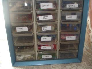 Button sorter