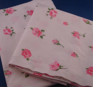 Rose pillow cases