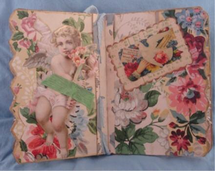 Wallpaper book inside
