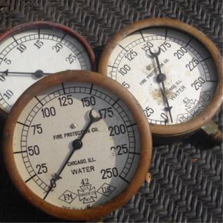 Water dials