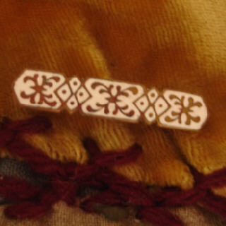 Earring enamel pin
