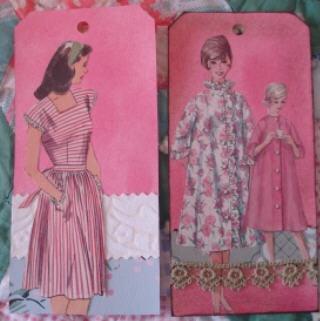 Pink pattern b