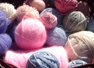 Yarn in the sun