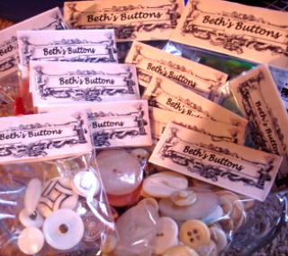 Buttons in bags