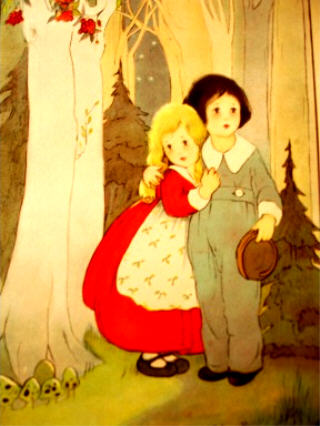 The Hansel & Gretel book has the most charming illustrations.