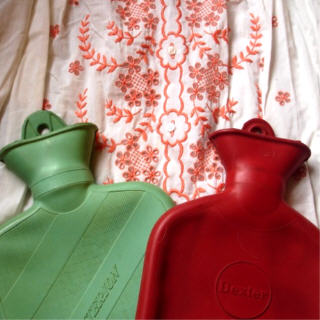 Skirt hot water bottles
