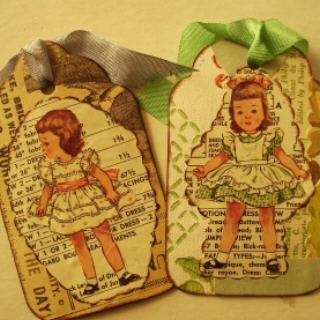 Pattern girl tags 2