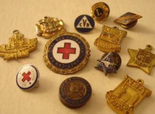 Membership pins