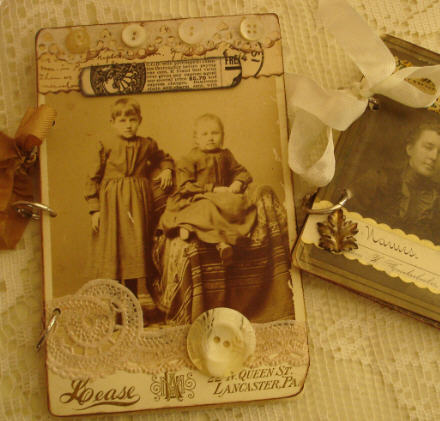 Cabinet card journal