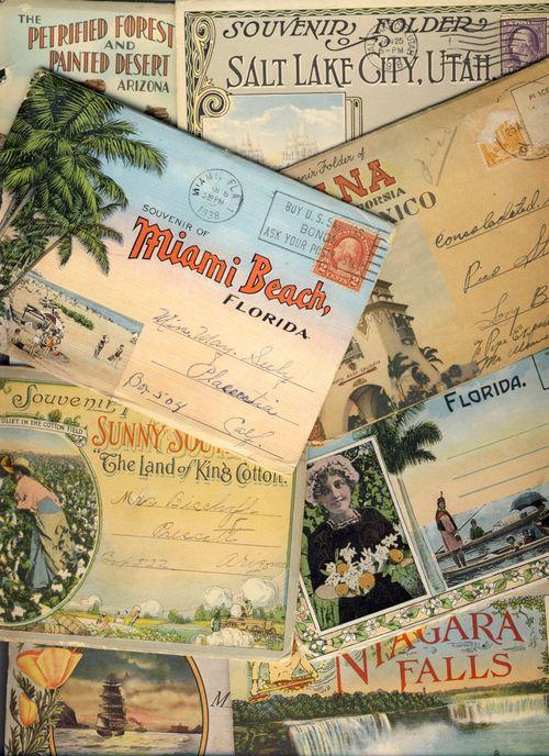 Postcards folders