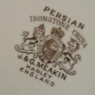 Ironstone marks