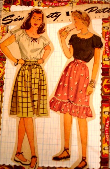 Pattern girl2