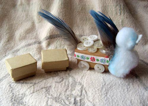 Bird train
