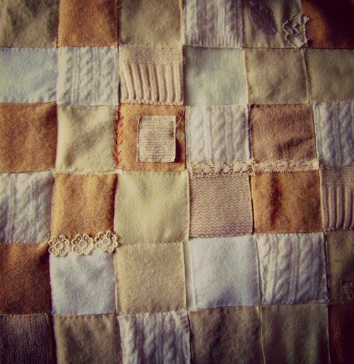 Wool patchwork