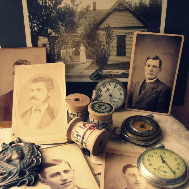 Cabinet cards watches