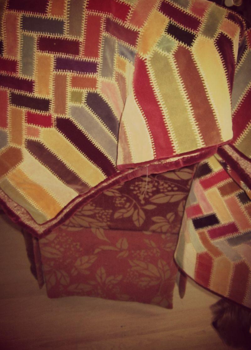 Velvet quilt