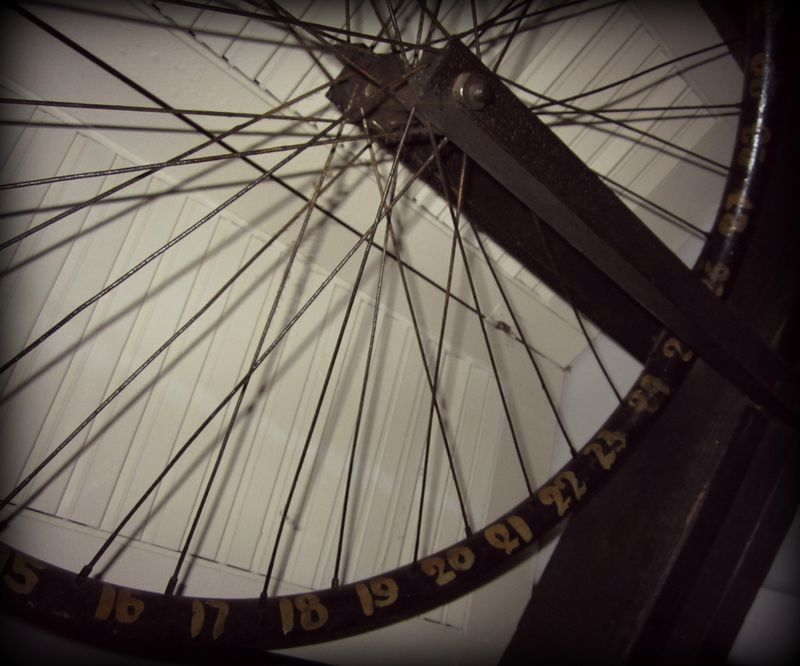 Wheel closeup