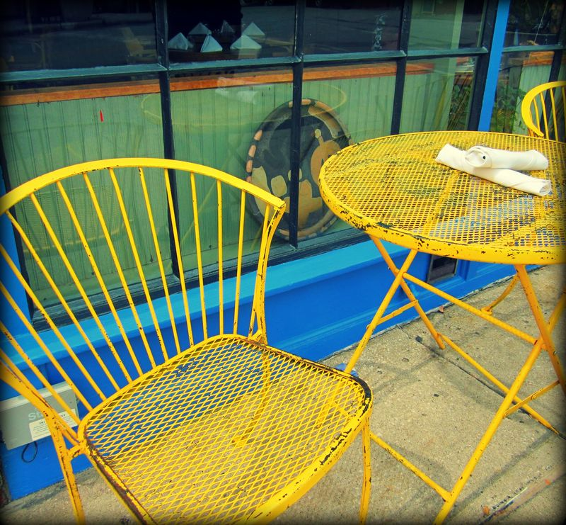 Bluebird chairs