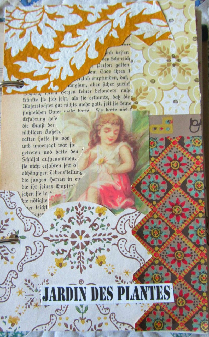 Wallpaper journal page