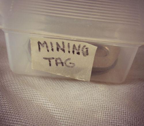 Box mining tags
