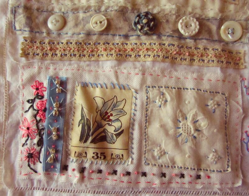 Bird song apron 2