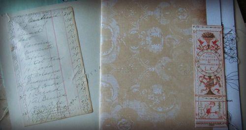 Sewn folios