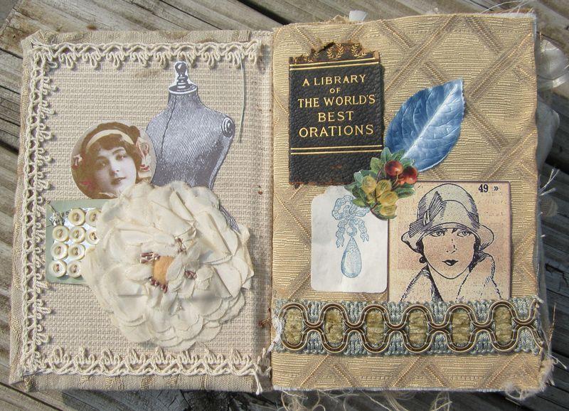 Fabric book bleintz