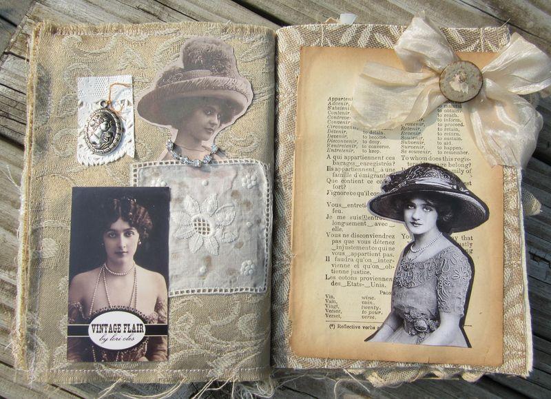 Fabric book page bleintz (2)