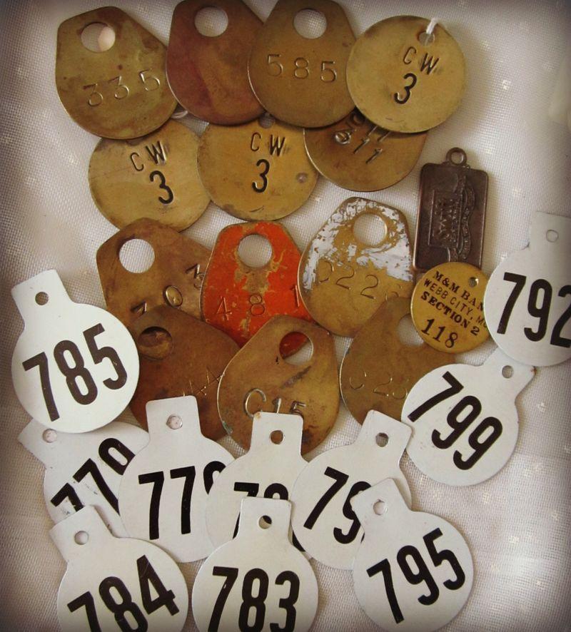 Mining tags