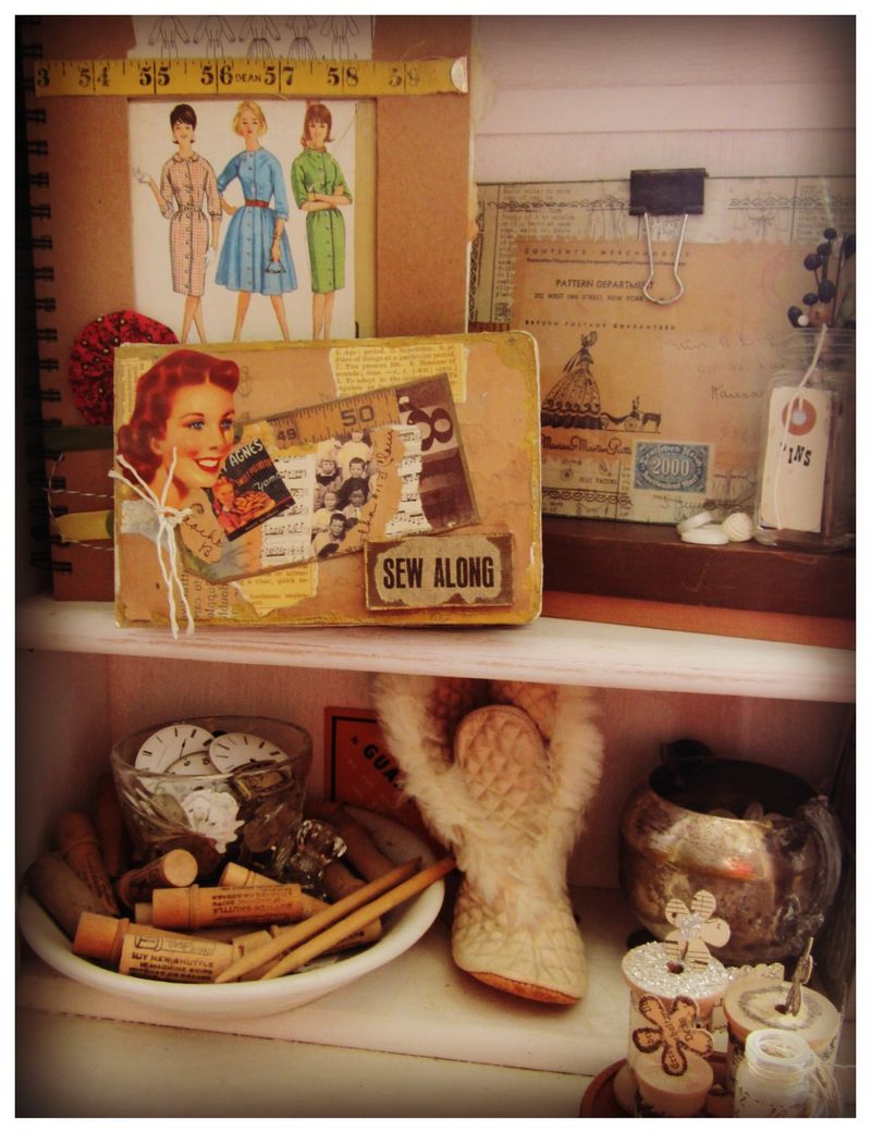 Sewing cupboard