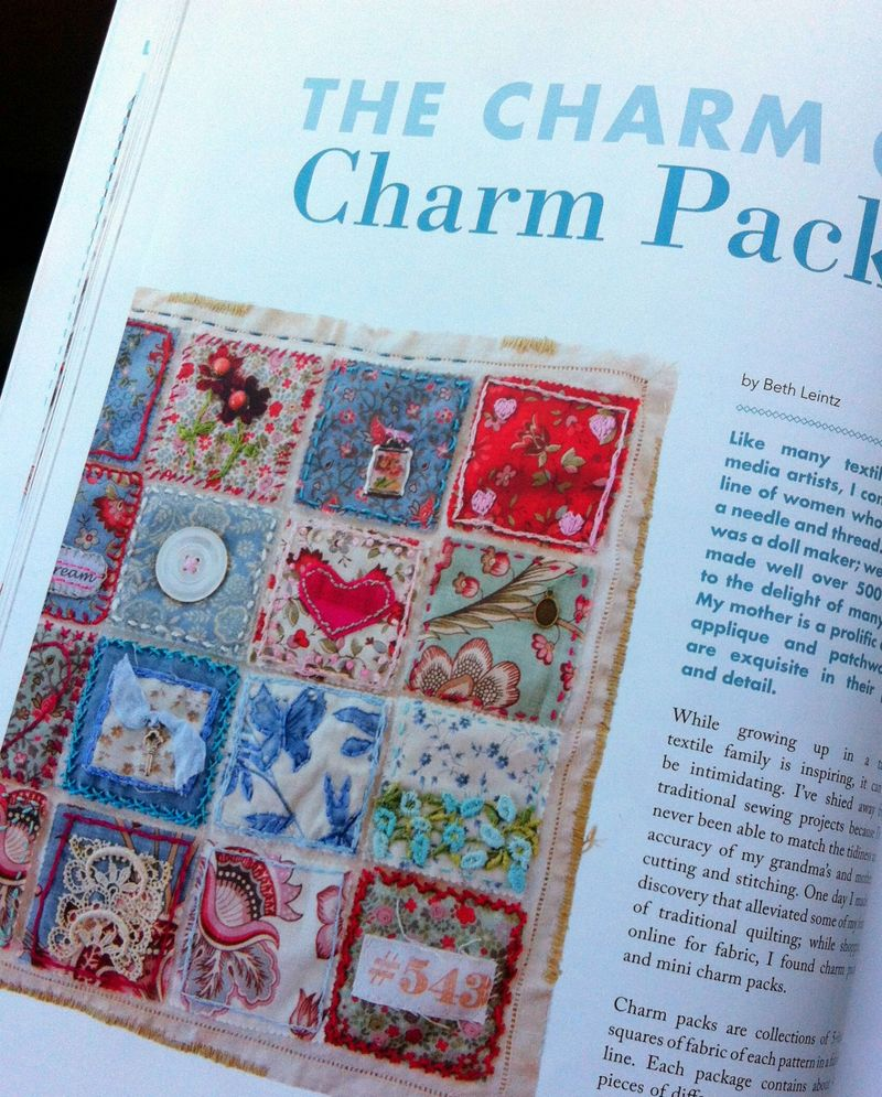 Sew charm pack quilt