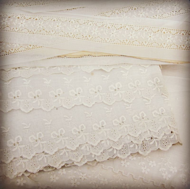Lace on cards