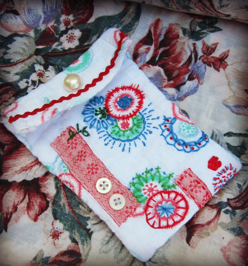 Little quilted bag