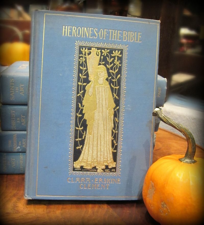 Blue books pumpkin