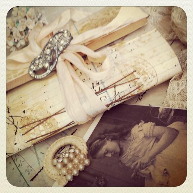 Postcard journal