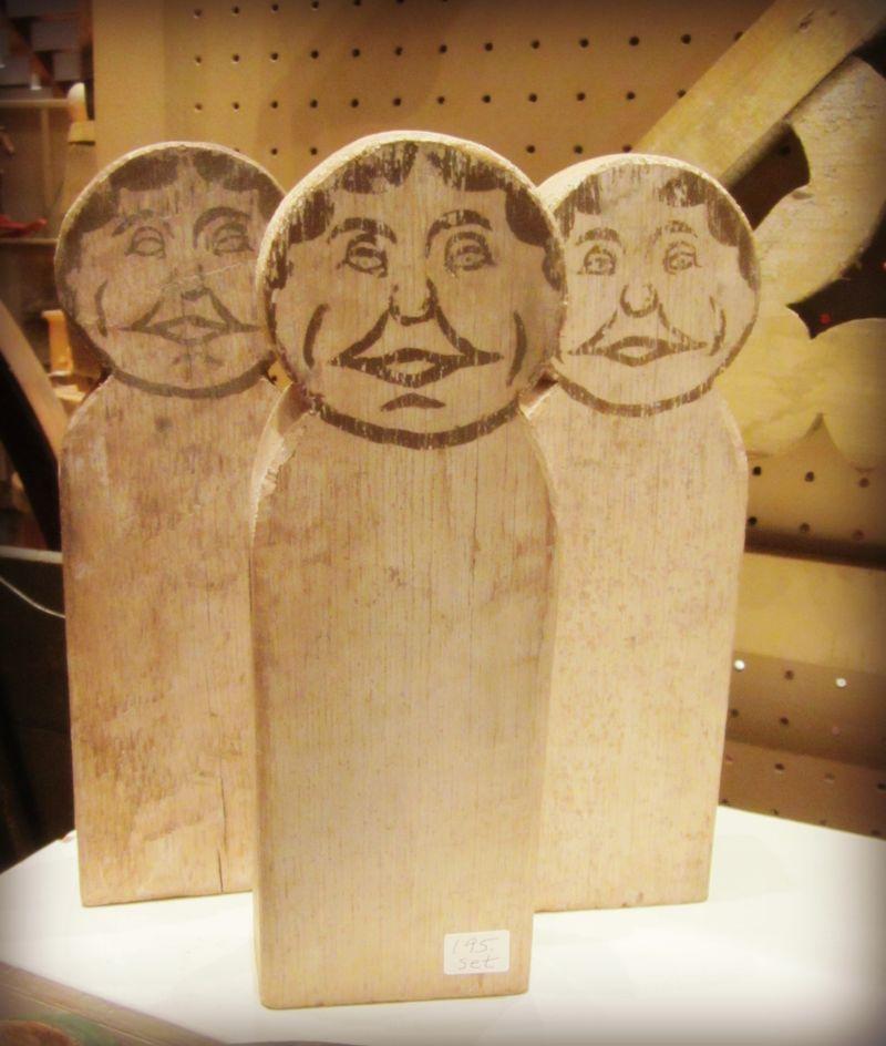 Wooden men