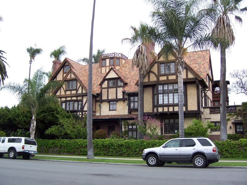 Mansion from the front