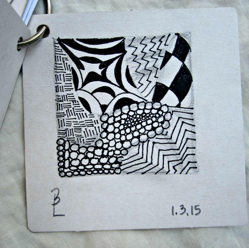 1st tangle