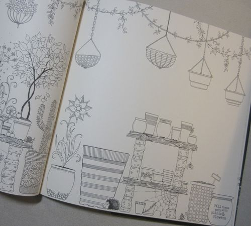 Inside coloring book