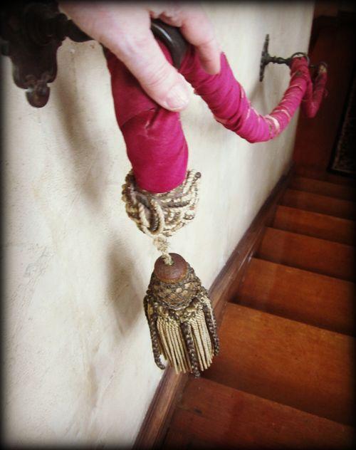 Velvet handrail