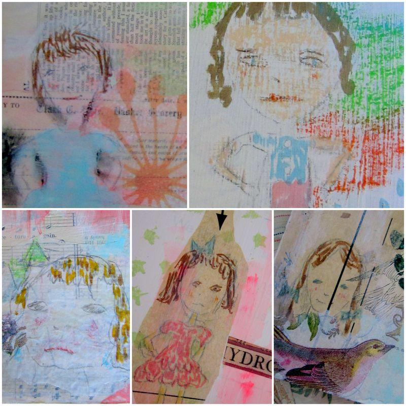 Hu collage