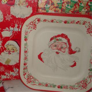 Santa_plate