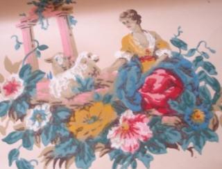 Lady_and_lamb_wallpaper